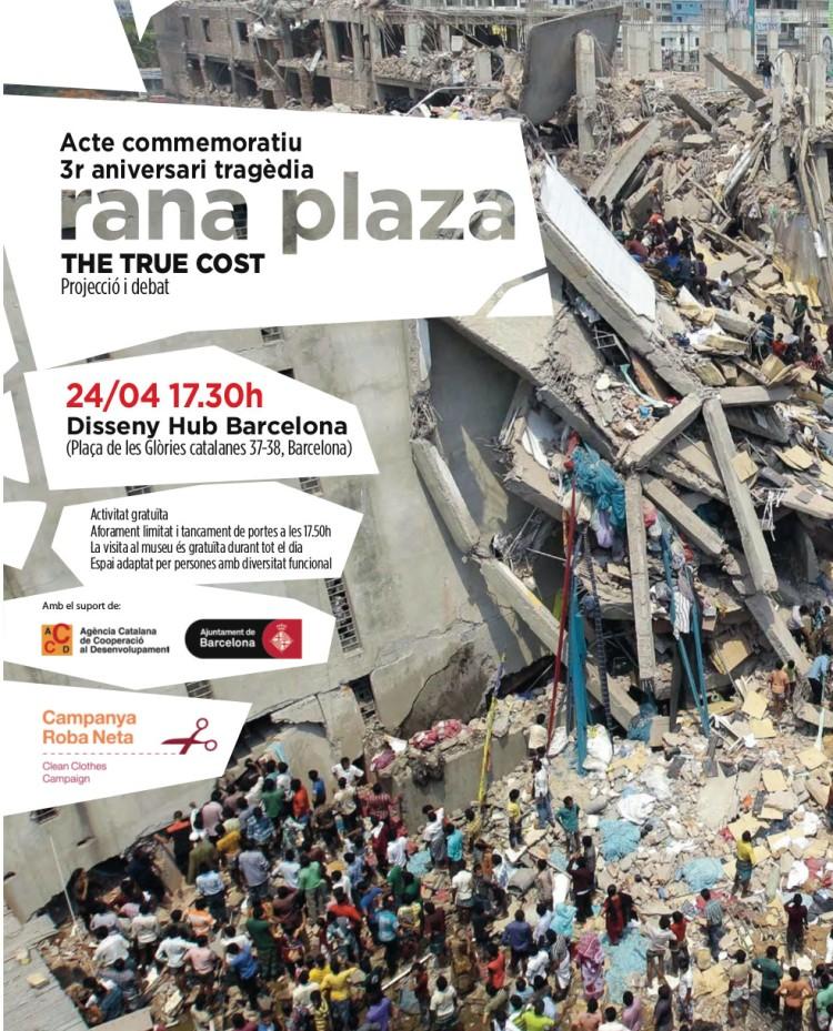3er aniversari Rana Plaza
